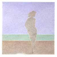 Am Meer #1, 2009-17, Farbstifte, 30x30 internet